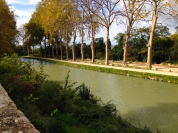 Empty Canal du Midi