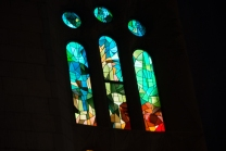 Sagrada Familia Stained Glass 1