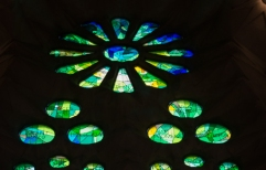 Sagrada Familia Stained Glass 2