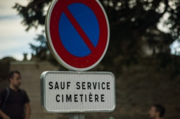 Self Service cemetery