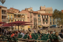 Waterfront in Collioure