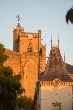 Church at golden hour