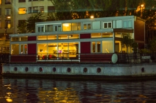 Houseboat from Bateau Mouche