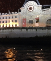 Musée D'Orsay from Bateau Mouche