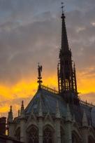 Ste Chappelle sunset