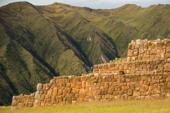 Ancient Incan Wall