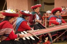 Weaving and Singing