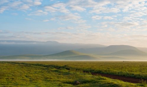 Ngorogoro Crater at Dawn 2