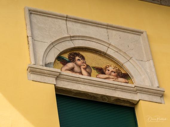 Villa Mosaic Detail