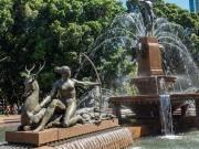 diana at archibald fountain