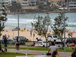 Bondi Beach from Bus