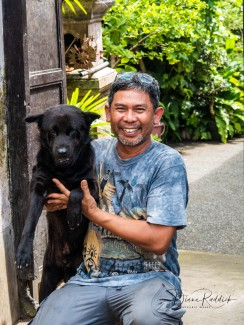 Nyoman and His Dog