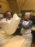 Tossing Pizza Dough